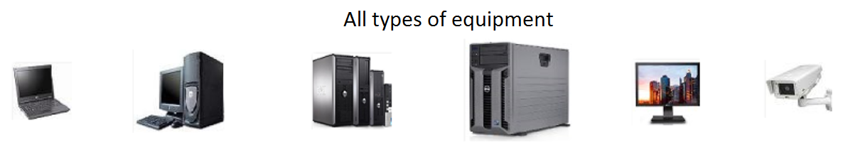 All types of computer networking equipment